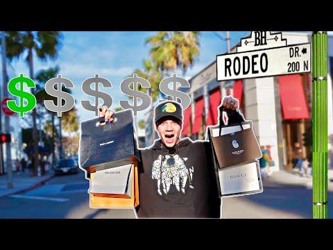 Buying The CHEAPEST Items On Rodeo Drive! (Gucci, Saint Laurent, Louis Vuitton, Balenciaga, Goyard)