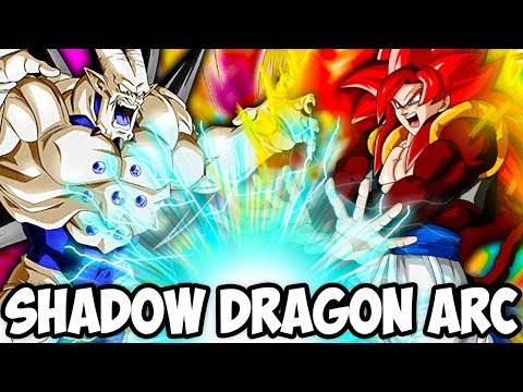 MUST SEE!!! THE MOST OP SHADOW DRAGON ARC TEAM! Dragon Ball Z Dokkan Battle!