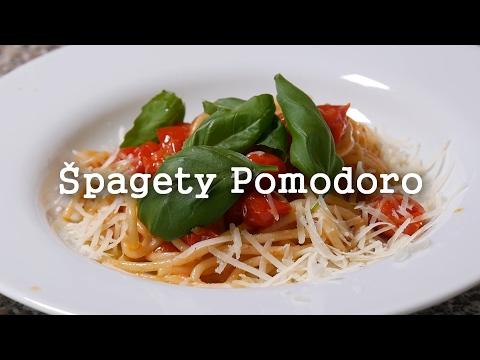 Špagety pomodoro - Jednoduše a chutně!