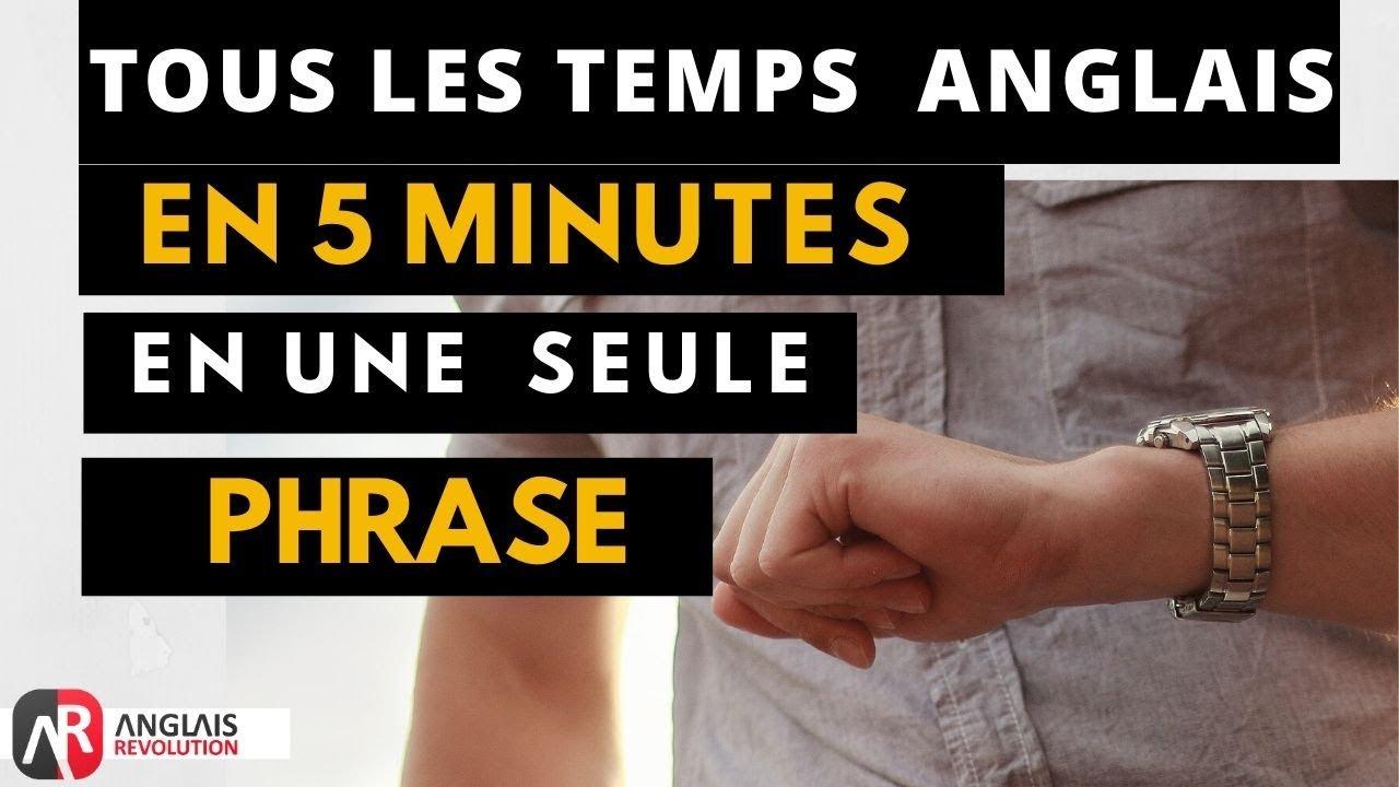Tuto Comment Conjuguer En Anglais Tous Les Temps En 5 Minutes Youtube