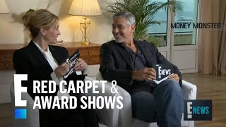 Watch George Clooney & Julia Roberts Interview Each Other! | E! Red Carpet & Award Shows