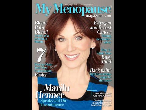My Menopause Magazine No. 20 In Apple Newsstand & Google Play; Mache Seibel Editor