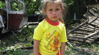 Горловка 12.06.2015  Последствия ночного обстрела ВСУ миномётами.