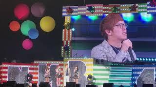 2017年9月20日 神奈川・横浜にて行われたNMB48アリーナツアーのなかで撮影OKがでたオーマイガーです! あまりにもメンバーが近くてブレブレですが...
