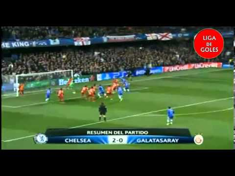 Chelsea 2 Galatasaray 0 - UEFA Champions League 13-14 All Goals & Highlights
