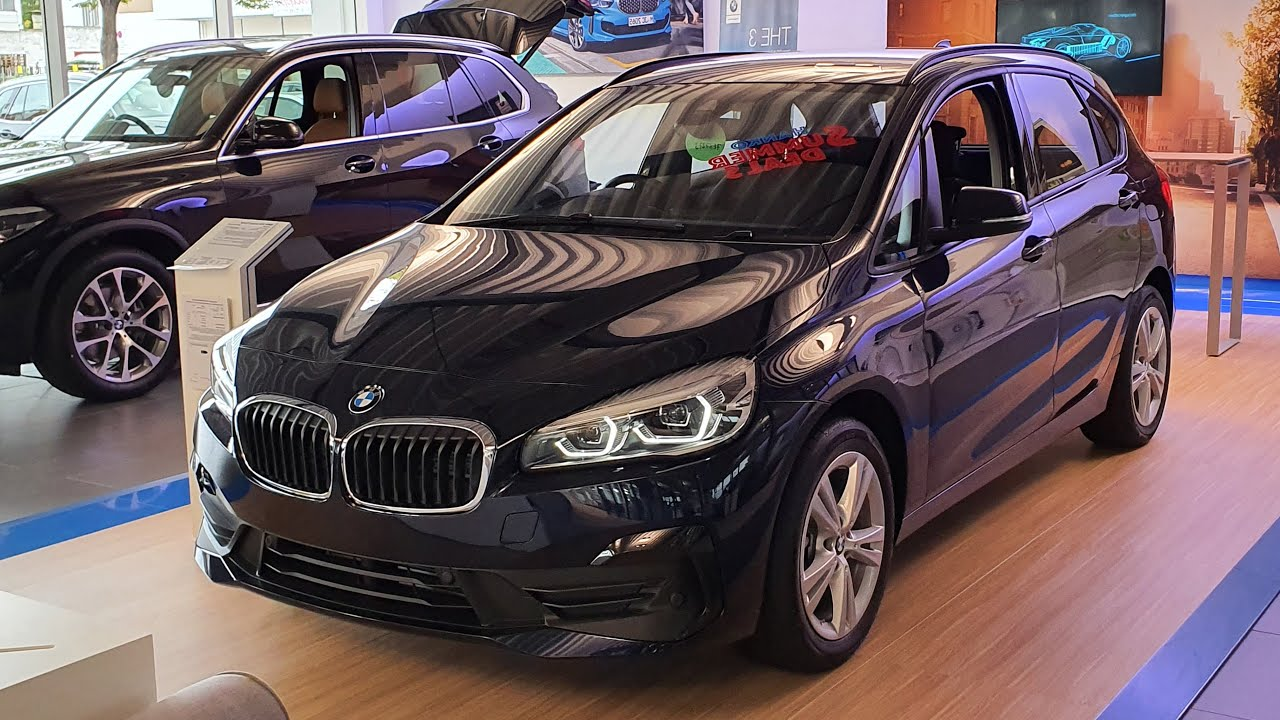2020 Bmw 218i Active Tourer Modell Advantage Visual Review Youtube