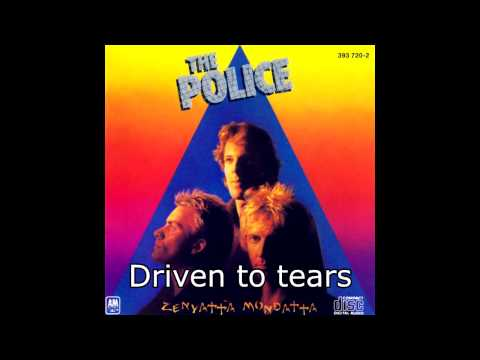 The Police - Driven to Tears (karaoke)