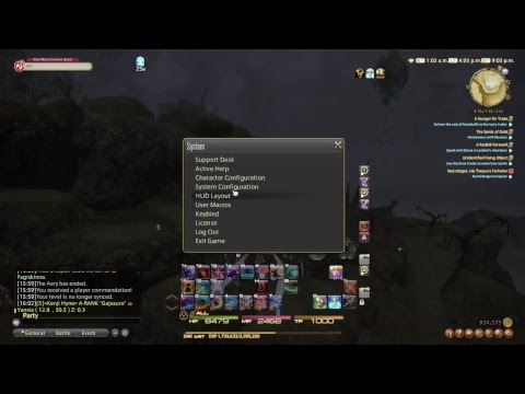 FFXIV PS4 with keyboard and mouse come enjoy