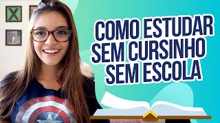 Como estudar sozinho/ por conta própria para o ENEM (Débora Aladim)