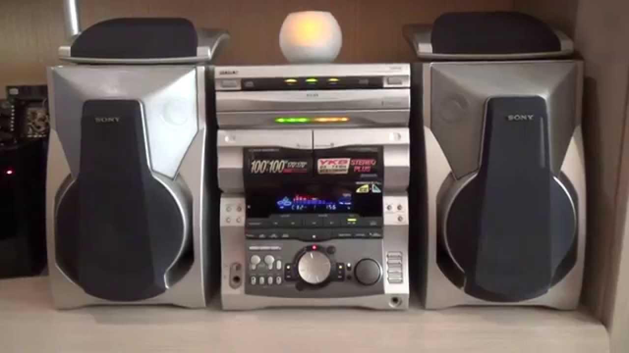 музыкальный центр sony rx инструкция 50