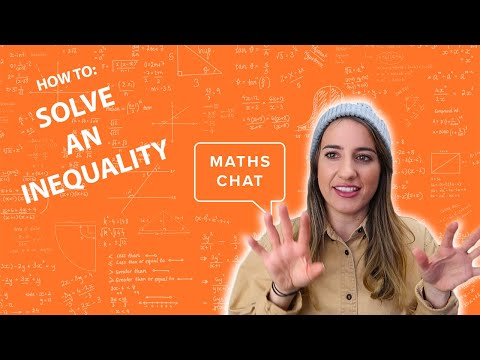 Linear Relations:Lesson 3- How to Solve an Inequality | Linear Programming | Tutorial- Maths Chat thumbnail