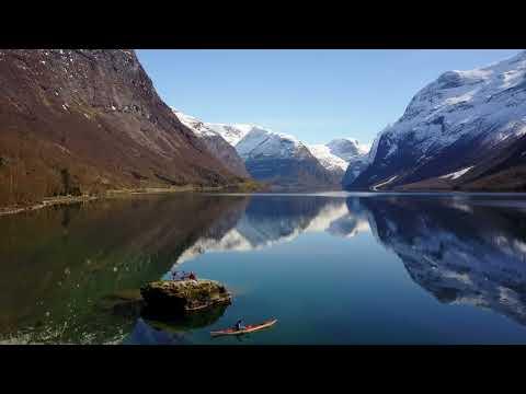 Lovatnet in Stryn Norway