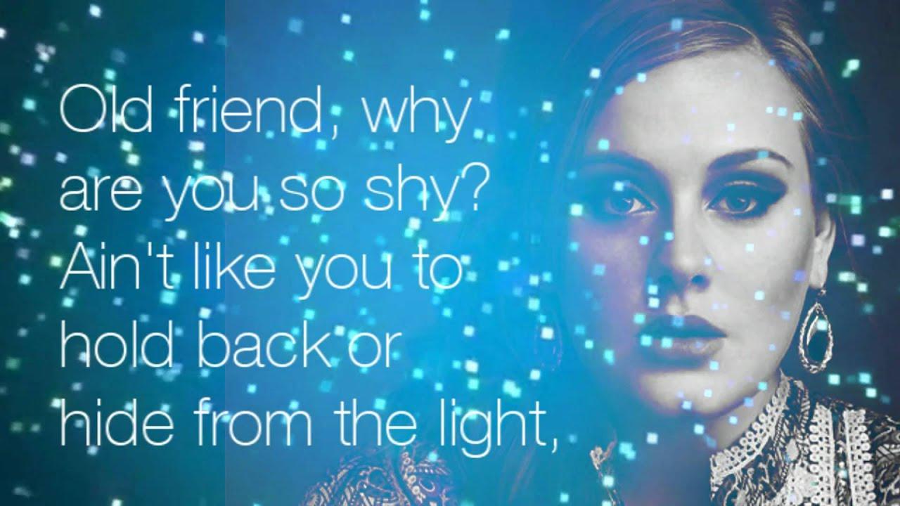 Adele - 25 Lyrics and Tracklist | Genius