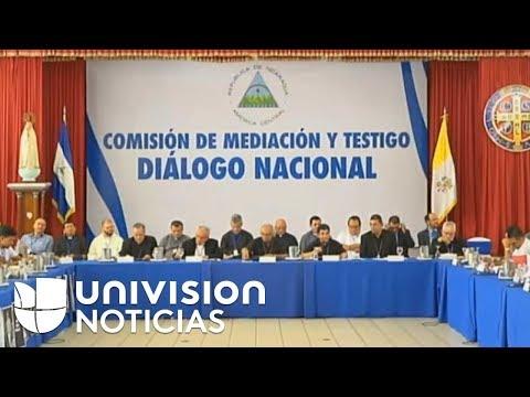 Continúan mesas de diálogo en Nicaragua