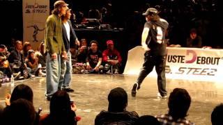 JUSTE DEBOUT 2012 Rhythmalism vs Zetton