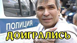 Смотреть Трагедия в семье Алибасова – к дому продюсера срочно приехало 2 экипажа полиции онлайн