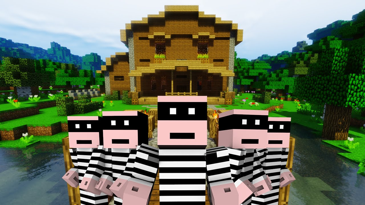 5 Traps To Protect Your House Minecraft Youtube