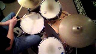 "Jon Biggs Pork Pie Drums "" Darkness On The Face Of The Earth "" - drum cover"
