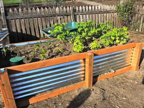 garden raised beds