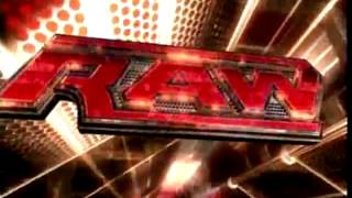 "WWE RAW ""2008"" To Be Loved Intro Video"