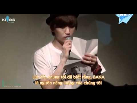 [Vietsub] 120318 B1A4 SANDEUL DAY - Letter To BANAs + Crush - Lee SANDEUL SOLO