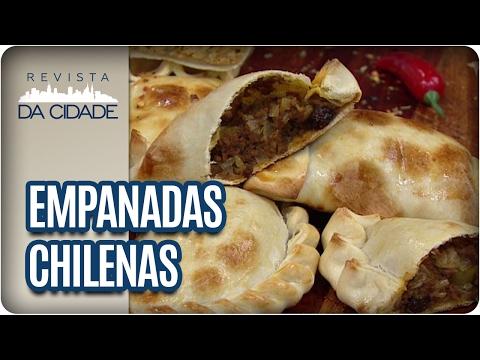 Receita de Empanadas Chilenas - Revista da Cidade (16/02/2017)