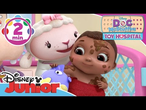 Thumbnail: Doc McStuffins: Toy Hospital | Baby Bath Time | Disney Junior UK