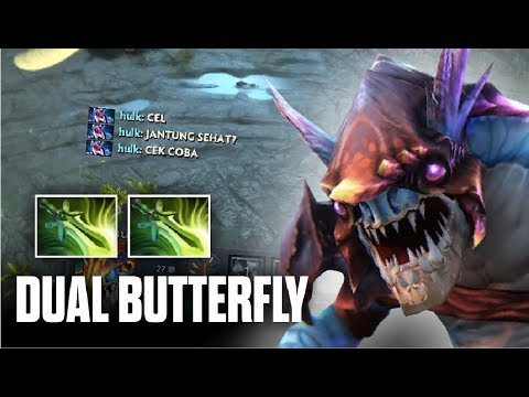 MORE SPEED MORE FUN - 2x Butterfly Slark 7.06 by Fnatic.AhJit - Top Pro Player Dota 2