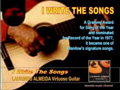 I Write The Songs - from Laurindo Almeida Virtuoso Guitar album.wmv