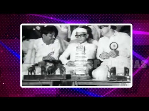 MGR In Tamil University Inaugural Function -1981