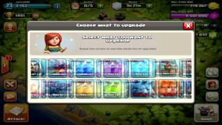 """Clash of Clans - Maxing Out Base.. 60,000 Gems!! Max Level All Spells, Max Level """"GoWiWi"""" Troops! #3"""