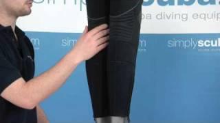 WaterProof Womens W1 Wetsuit 5mm - www.simplyscuba.com