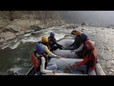RIVER RAFTING BY INDORIANS AT KULLU  / MANALI (INDORE)