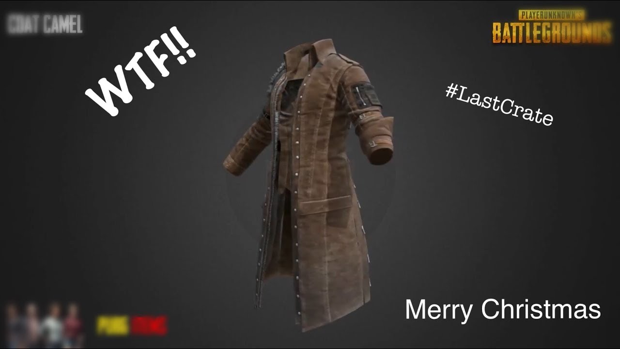 I Got A Coat Christmas Eve Pubg Crate Opening 2017