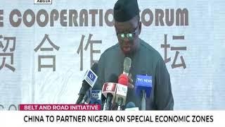 China to partner Nigeria on special economic zones