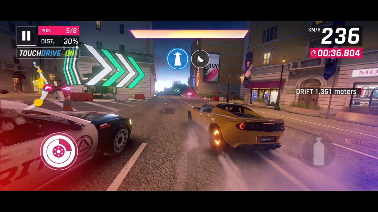 Download Asphalt 9- Drift 2000m in single race with 3star car- Heatwave Season Mission Episode 7