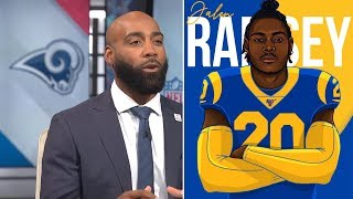 Mike Rob & DeAngelo Hall REACTION To Jalen Ramsey Trade 'BIG WIN FOR Rams'