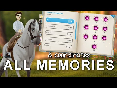 ALL Catherine's Memory Fragments & Coordinates (Epona, Dino Valley, Mistfall & Golden Hills) - SSO