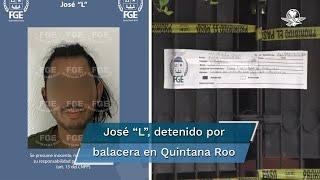 """La Fiscalía estatal señaló que se trata de José """"L"""", quien es investigado por los delitos de homicidio calificado, homicidio en grado de tentativa y lesiones"""