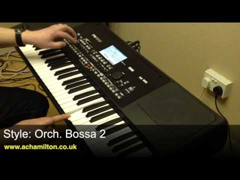 Korg PA300 Keyboard Demo With Luke Edwards at A&C Hamilton