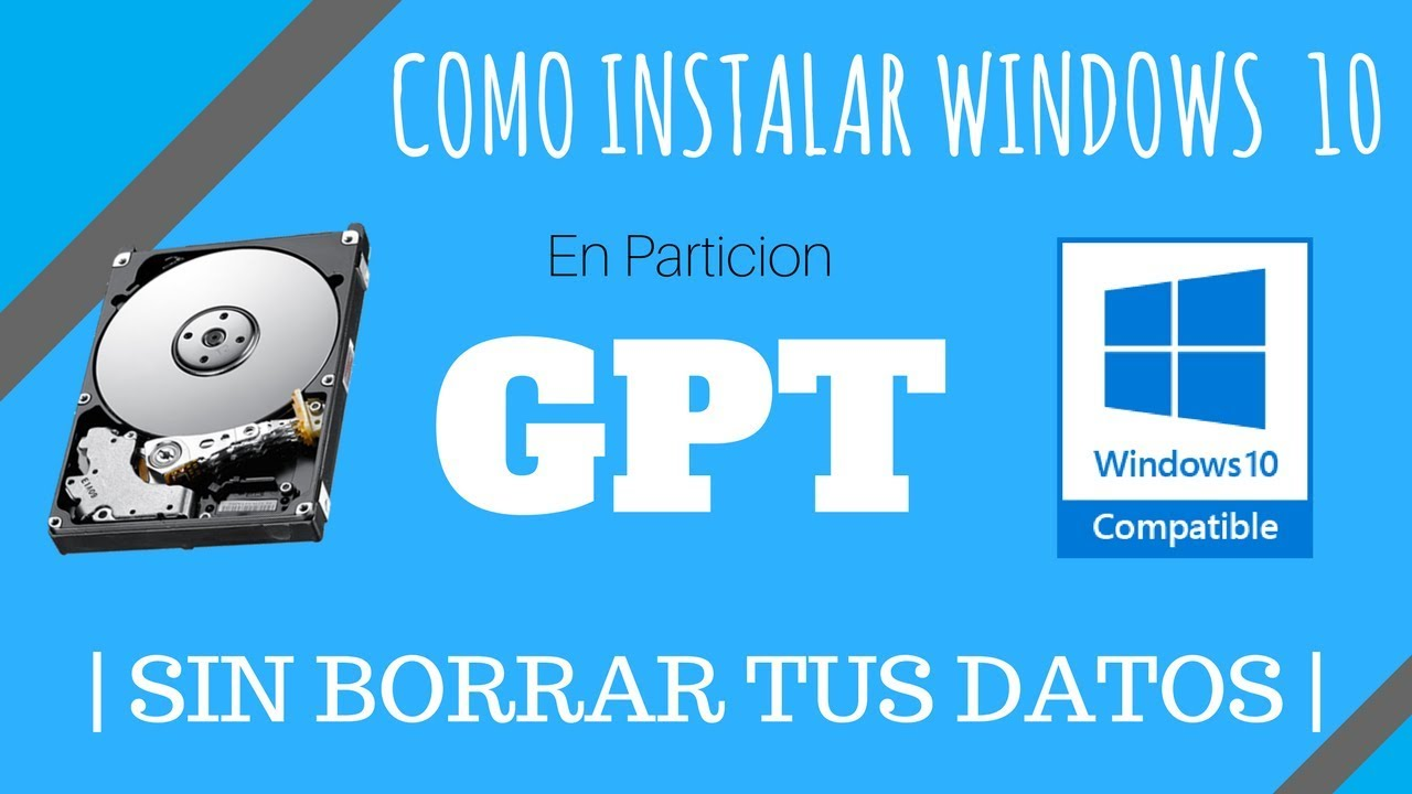 [2019] Como Instalar Windows 10 en partición …
