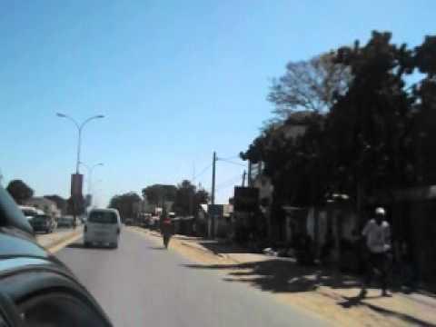 Banjul Highway drive through