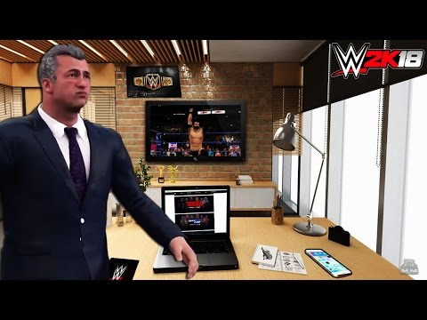 WWE 2K18 - GM MODE, OFFICE & MUCH MORE | FULL GAMEPLAY | GENERAL MANAGER MODE |Concept| PS4/XBOX ONE