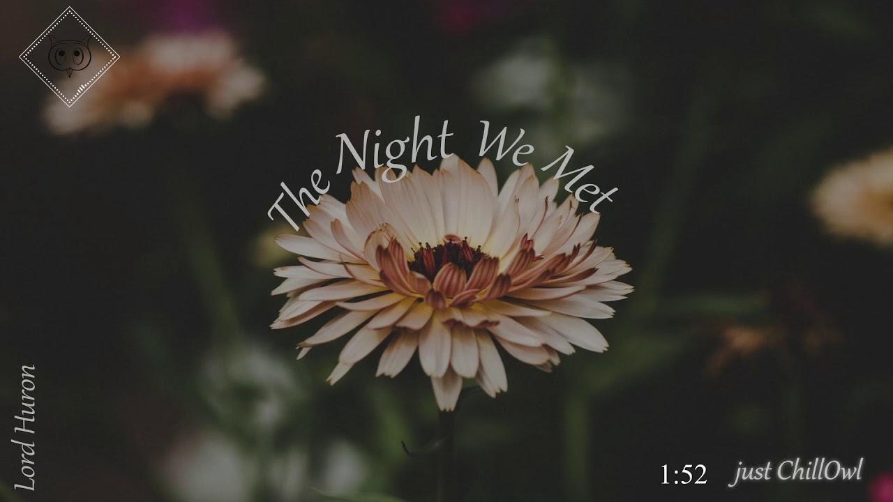 lord huron pdf the night we met