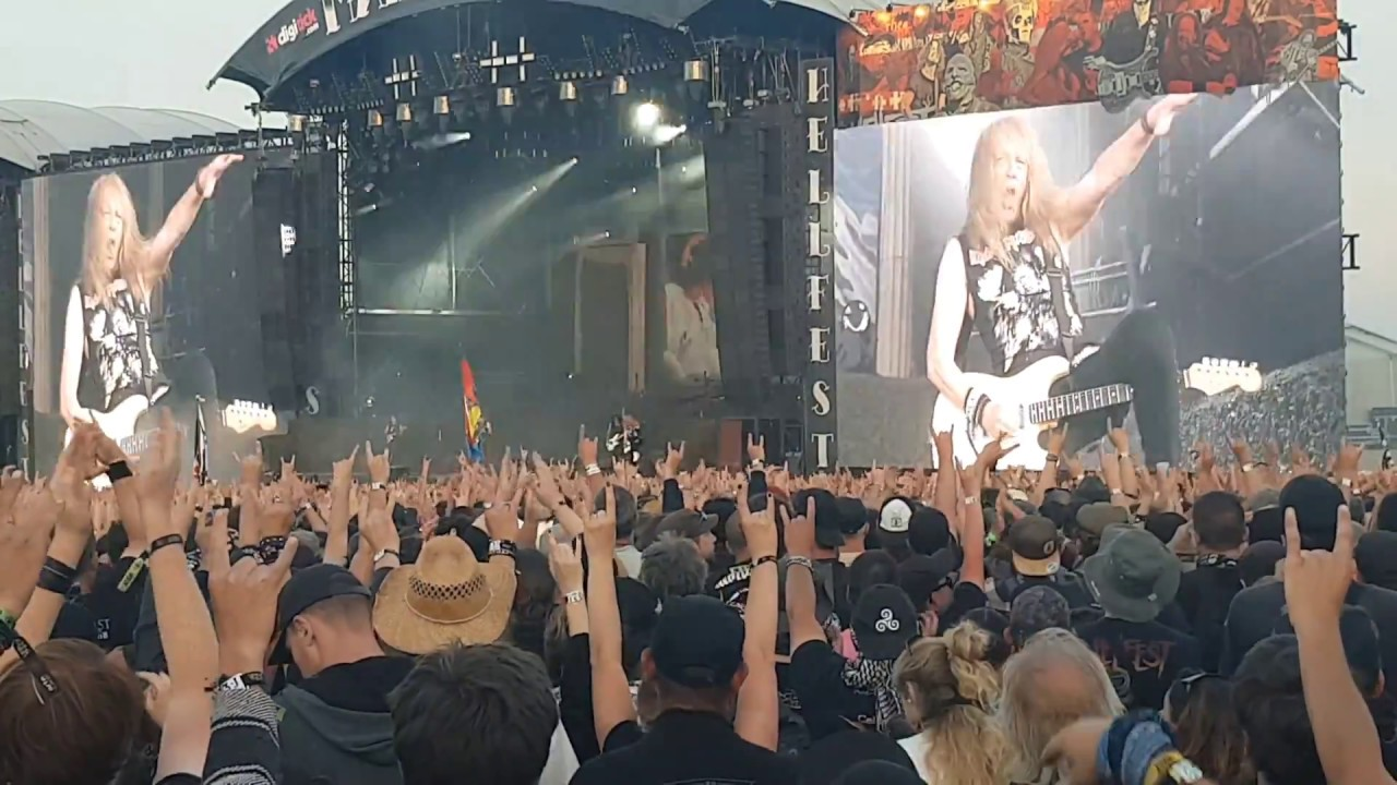 Iron maiden hellfest 2018 concert complet - YouTube