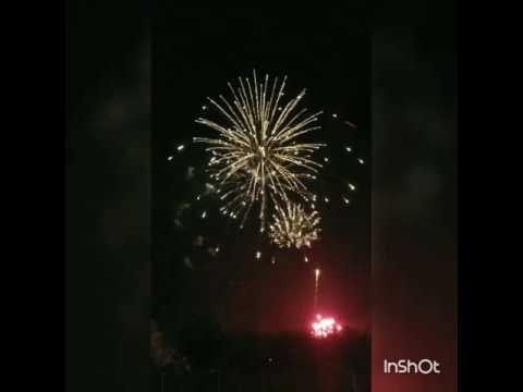 Ft hood Fireworks Display 2017
