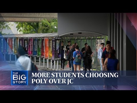 THE BIG STORY: Tips To Help Decide The Polytechnic Or Junior College (JC) Route | The Straits Times