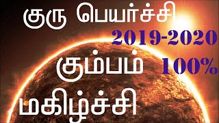 Guru Peyarchi 2019-2020 Kumbha Rasi|குரு பெயர்ச்சி