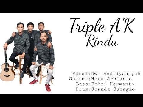 Lagu LDR Romantis _-_ Triple A'K - Rindu(OFFICIAL VIDEO CLIP)