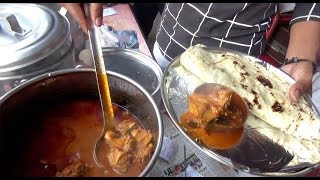 Chicken Curry 2 Paratha @ 50 Rs | Cheapest Non-Veg Lunch in Hyderabad | Crowd Crazy 2 Eat